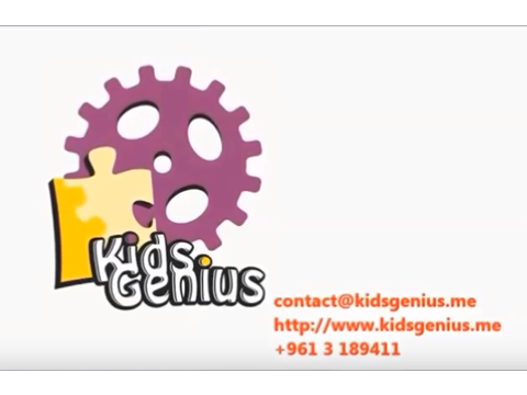 KIDS GENIUS Sabine Kai +961 3 189411 contact@kidsgenius.me www.kidsgenius.me